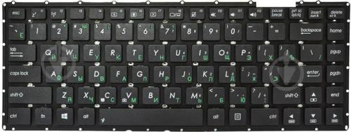 Клавіатура PowerPlant для ноутбуків ASUS X450J A450CC (KB310725) black - фото 1