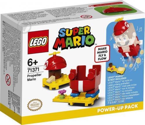 Конструктор LEGO Super Mario Маріо з пропелером. Бонусний костюм 71371 - фото 1
