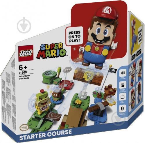 Конструктор LEGO Super Mario Приключения вместе с Марио. Стартовый набор 71360 - фото 1