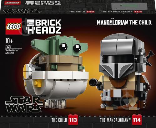 Конструктор LEGO Star Wars Мандалорец и малыш 75317 - фото 1