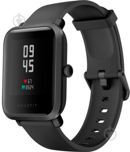 Смарт-часы Amazfit Bip S Carbon black (601688) - фото 1