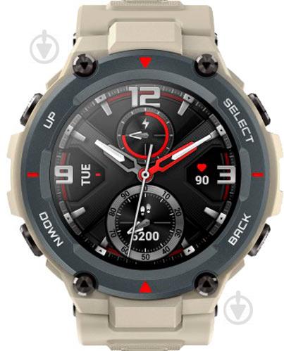 Смарт-часы Amazfit T-Rex Army Khaki (601686) - фото 1