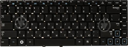 Клавіатура PowerPlant для ноутбука SAMSUNG 300E4A (KB311910) без фрейма black - фото 1