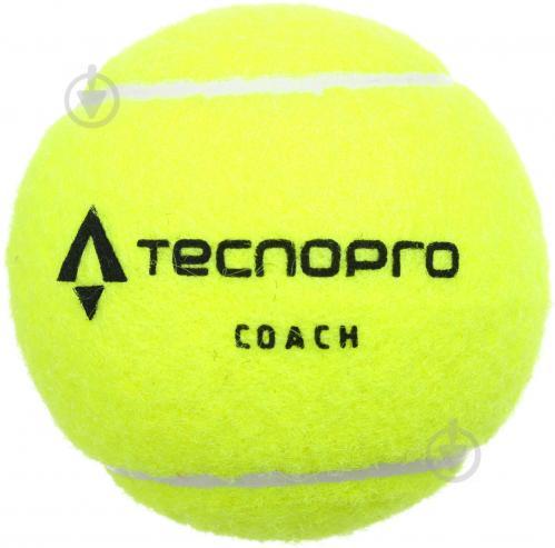 Мяч для большого тенниса TECNOPRO 262459-181-1 - фото 1