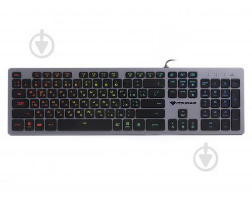 Клавіатура ігрова Cougar VANTAR AX Black (VANTAR AX Black) black - фото 1