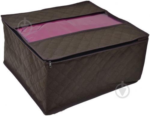 ᐉ Чохол для зберігання об ємний Chocolate 43x47x25 см • Краща ціна ... f29b3625165ed