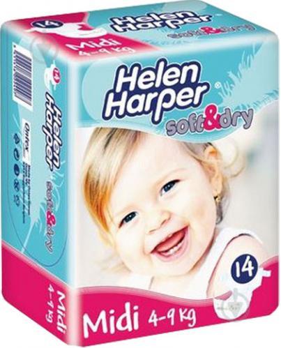 ᐉ Подгузники Helen Harper Baby 2 Midi 4-9 кг 14 шт. • Купить в ... 17f07b0dafa