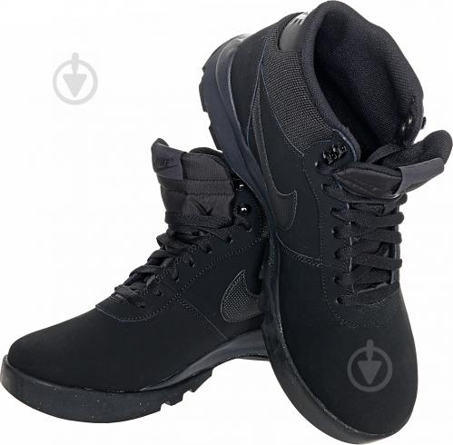 3e0e1214 ᐉ Ботинки Nike Hoodland Suede 654888-090 р. 10,5 черный • Купить в ...