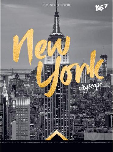 Книга для нотаток А6/64 7БЦ New York YES - фото 1