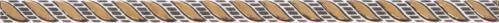 Плитка Атем Stick Kosa W Gold 1,5x29.5 - фото 1