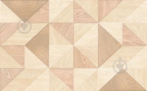 Плитка Golden Tile Carina Mix світло-бежевий CRV151 25х40 - фото 1