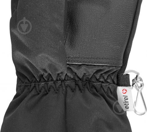 Перчатки Etirel 250123 р. 6 черный - фото 2