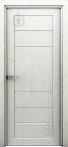 Дверное полотно Интерьерные двери Орион ПГ 700 мм перламутр