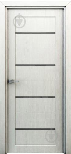 Дверне полотно Інтер'єрні двері Оріон ПГО 600 мм перламутр