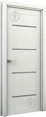 Дверне полотно Інтер'єрні двері Оріон ПГО 800 мм перламутр - фото 2