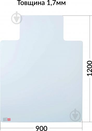 Подложка под стул Mapal Non-slip тип 2 1200х900х1,7 мм - фото 1