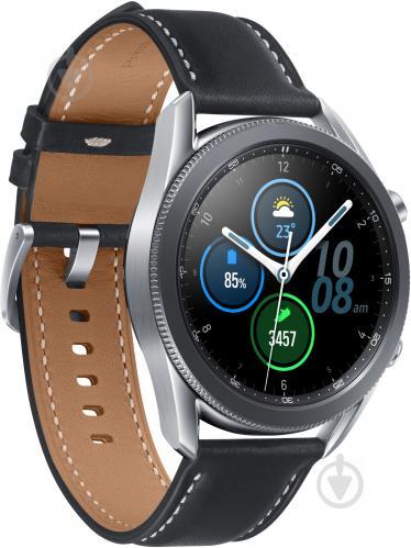Смарт-часы Samsung Galaxy Watch 3 45mm silver (SM-R840NZSASEK) - фото 1