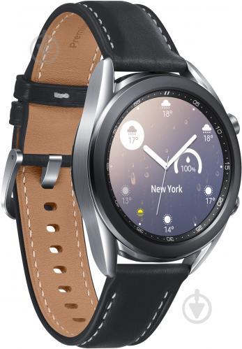 Смарт-часы Samsung Galaxy Watch 3 41mm silver (SM-R850NZSASEK) - фото 1