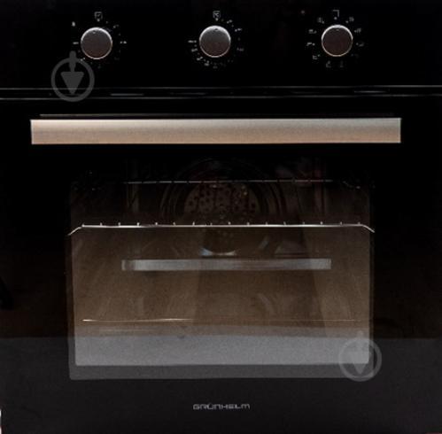 Духовой шкаф Grunhelm GDG600B черный - фото 1