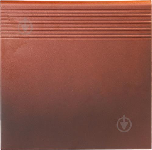 Клінкерна плитка OLD CASTLE RED STOPNICA 30x30x1,1 Cerrad - фото 1