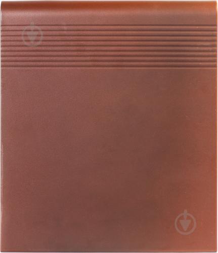 Клінкерна плитка OLD CASTLE RED STOPNICA V-SHAPE 30х32х1,1 Cerrad - фото 1