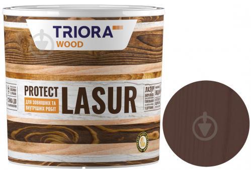 Лазурь Triora акриловая для древесины венге шелковистый глянец 0,75 л - фото 1