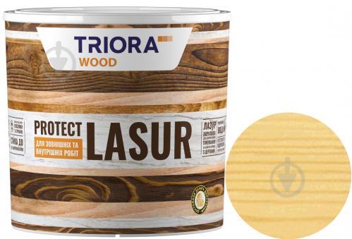 Лазурь Triora акриловая для древесины сосна шелковистый глянец 0,75 л - фото 1
