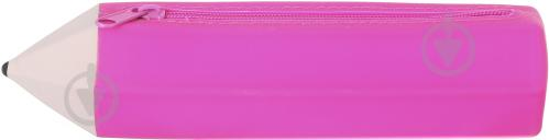 Пенал силиконовый SP180513 Карандаш розовый - фото 2