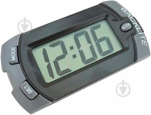Годинник електронний автомобільний 61784 - фото 1