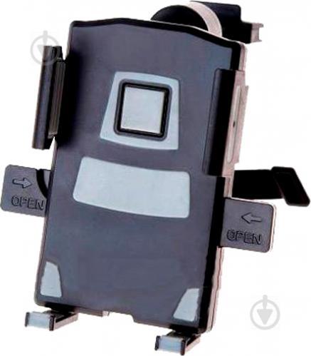 Держатель для мобильного телефона PULSO UH-1012BK/GY черный с серым - фото 1