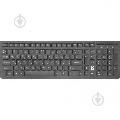 Клавіатура Defender UltraMate SM-535 Multimedia (45535) black - фото 1