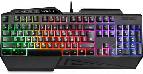 Клавіатура ігрова Defender Glorious GK-310L RU (45310) black - фото 1