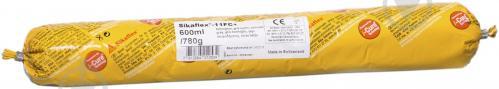 Клей-герметик полиуретановый Sika Sikaflex-11FC колбаса серый 600 мл - фото 1
