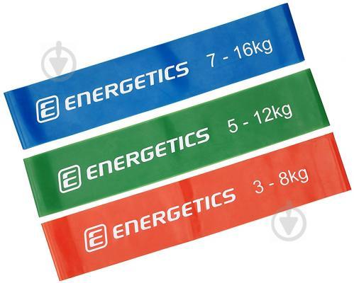 Набор мини-лент для фитнеса Energetics 3 шт. 256902