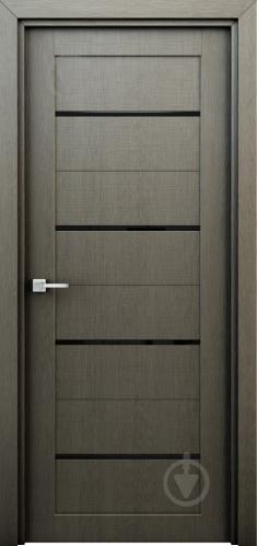 Дверне полотно Інтер'єрні двері Оріон ПО 600 мм сірий