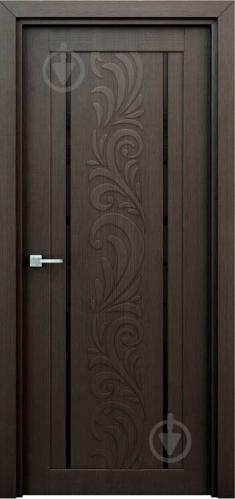 Дверное полотно Интерьерные двери Весна ПО 600 мм венге