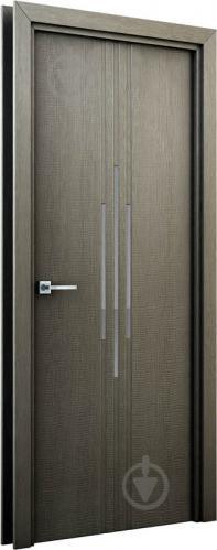 Дверне полотно Інтер'єрні двері Сафарі ПО 800 мм сірий - фото 2