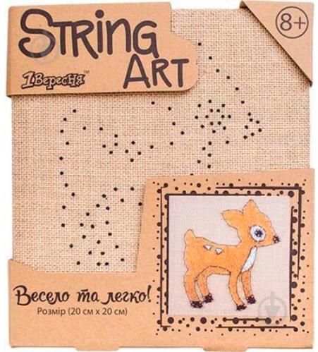 Набір для творчості Стрінг-арт Олень 952913 1 вересня - фото 1
