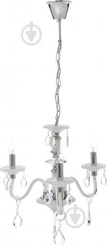 Люстра подвесная Victoria Lighting 3x40 Вт E14 белый Arumi/SP3 - фото 2