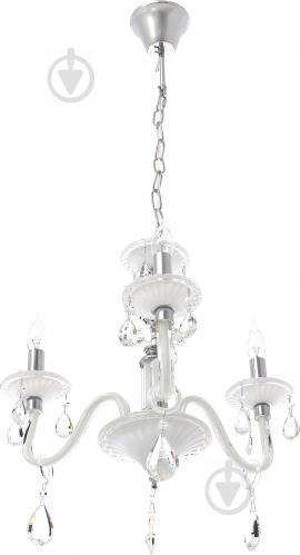 Люстра подвесная Victoria Lighting 3x40 Вт E14 белый Arumi/SP3
