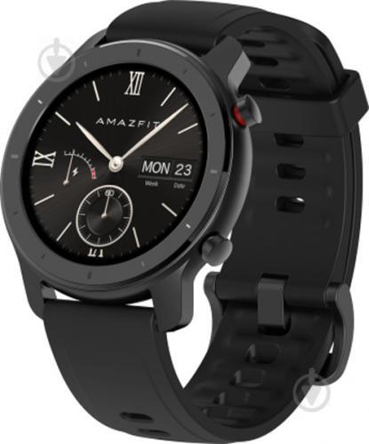 Смарт-часы Amazfit GTR 42 mm black (514741) - фото 1