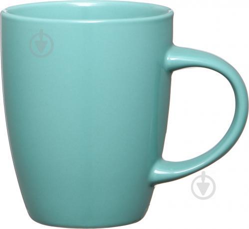 Чашка 330 мл бирюзовая - фото 1