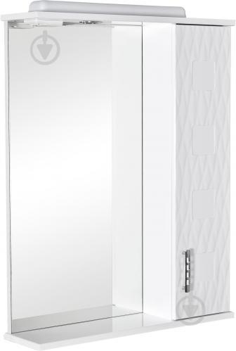 Зеркало со шкафчиком Aqua Rodos Асcоль 65 R - фото 1