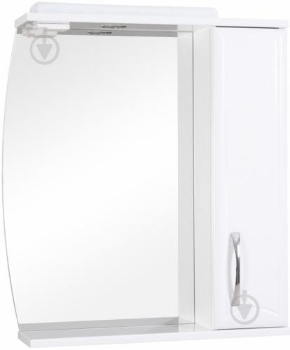 Зеркало со шкафчиком Aqua Rodos Decor 70 шкафчик справа - фото 1