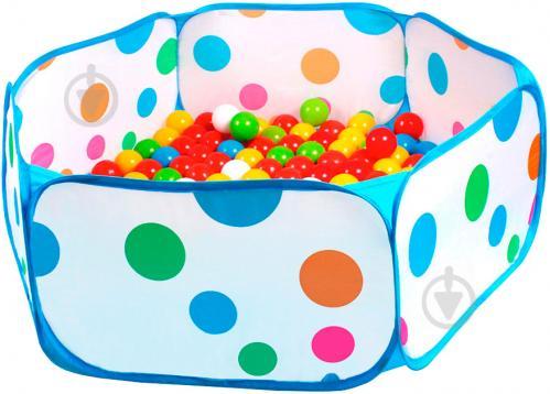 Ігровий набір ТехноК Сухий басейн з кульками 5552 - фото 1