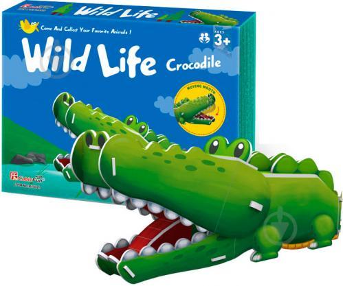 Пазлы с крокодилами