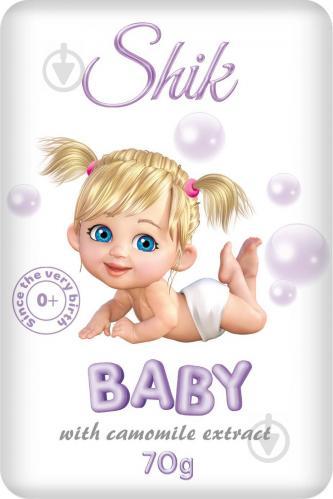 Мыло детское Шик с экстрактом ромашки 70 г - фото 1