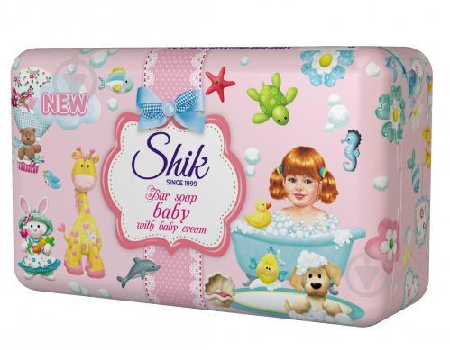 Мыло детское Шик с добавлением крема 350 г 5 шт./уп. - фото 1