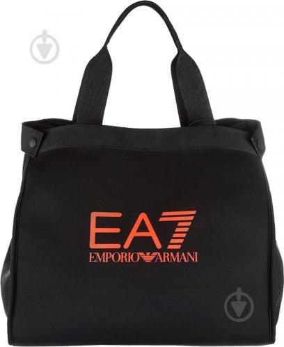 993d6888 ᐉ Спортивная сумка EA7 285434-7P711-00020 черный • Купить в Киеве ...