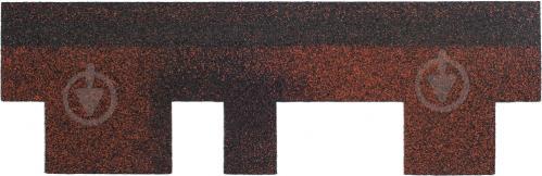 Битумная черепица TECHNONICOL Финская Аккорд красная 3 кв.м комплект 10 + 2 - фото 3